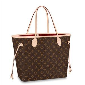 NWT Louis Vuitton Authentic NEVERFULL MM Tote